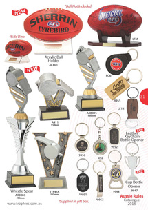 Aussie Rules Ball Holders Page 31